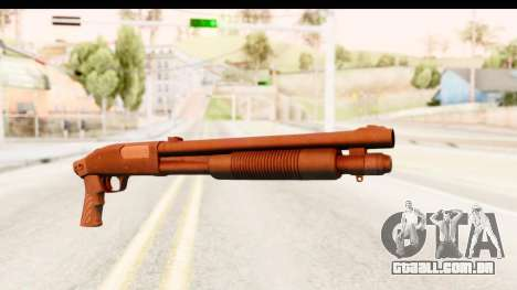 Tactical Mossberg 590A1 Black v1 para GTA San Andreas