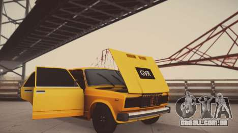 VAZ 2105 Pigler 1.0 para GTA San Andreas