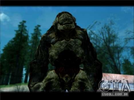 DOOM 3 - Hunter Invulnerability para GTA San Andreas segunda tela