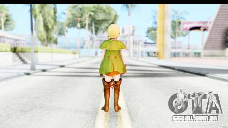 Hyrule Warriors - Linkle para GTA San Andreas terceira tela