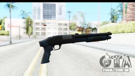 Tactical Mossberg 590A1 Black v3 para GTA San Andreas segunda tela