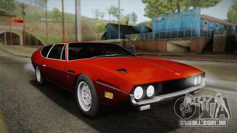 Lamborghini Espada S3 39 1972 para GTA San Andreas