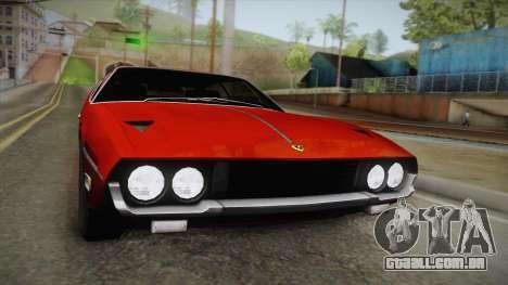 Lamborghini Espada S3 39 1972 para GTA San Andreas vista direita