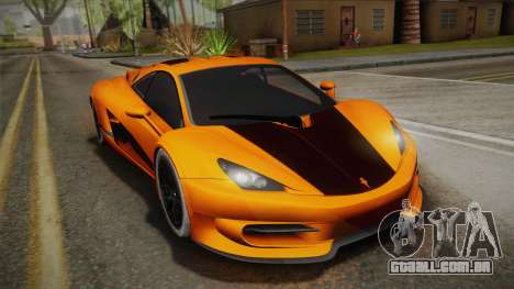 HTT Plethore LC750 2012 para GTA San Andreas