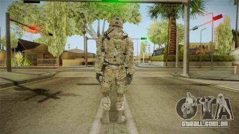 Multicam US Army 1 v2 para GTA San Andreas terceira tela