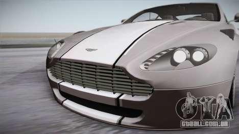 NFS: Carbon TFKs Aston Martin Vantage para GTA San Andreas vista direita