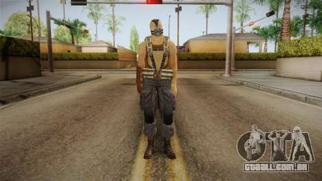The Dark Knight Rises - Bane para GTA San Andreas segunda tela