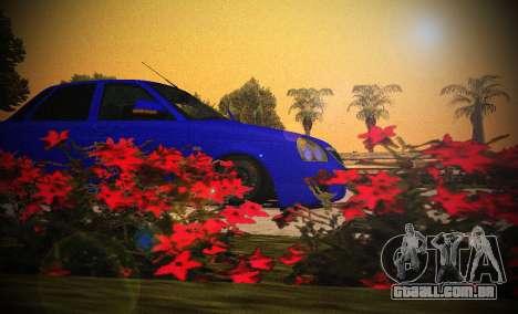 Lada Priora 2170 V.1.0 para GTA San Andreas traseira esquerda vista