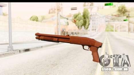 Tactical Mossberg 590A1 Black v1 para GTA San Andreas segunda tela