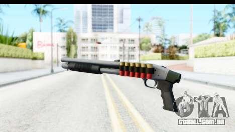 Tactical Mossberg 590A1 Chrome v3 para GTA San Andreas terceira tela
