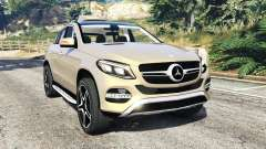 Mercedes-Benz GLE 450 AMG 4MATIC (C292) [add-on] para GTA 5