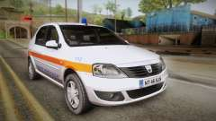 Dacia Logan Facelift Ambulanta v3