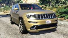 Jeep Grand Cherokee SRT-8 2014 [replace] para GTA 5