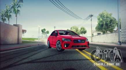 Subaru WRX 2015 para GTA San Andreas