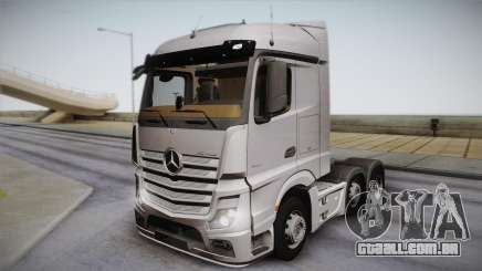 Mercedes-Benz Actros Mp4 6x2 v2.0 Steamspace para GTA San Andreas