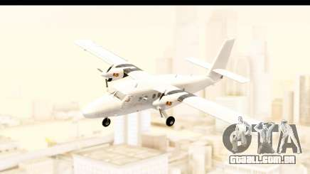 DHC-6-400 All White para GTA San Andreas