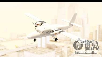 DHC-6-400 All White para GTA San Andreas