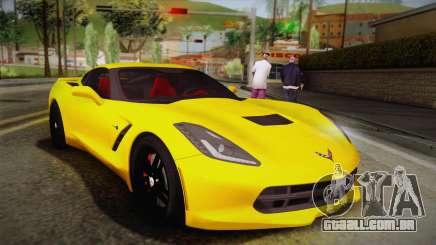 Chevrolet Corvette Stingray 2015 para GTA San Andreas