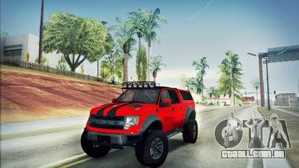 Ford F150 Raptor Long V12 para GTA San Andreas