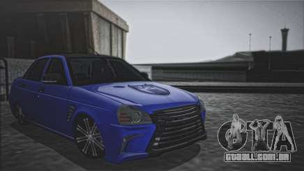 Lada Priora Lexus Amg para GTA San Andreas