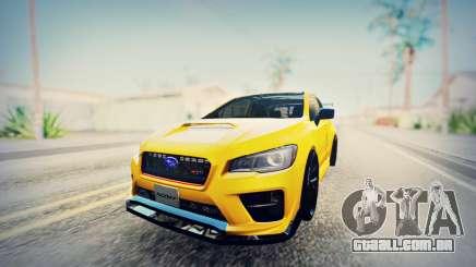 Subaru WRX STI S207 NBR CHALLENGE YELLOW EDITION para GTA San Andreas
