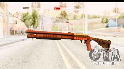Tactical Mossberg 590A1 Black v2 para GTA San Andreas