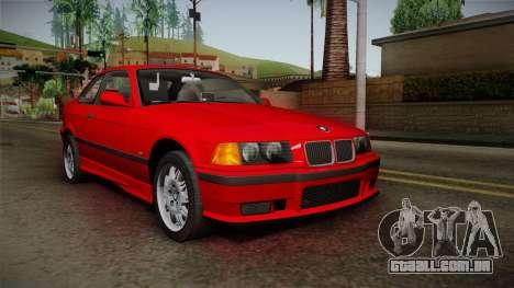 BMW 328i E36 Coupe para GTA San Andreas