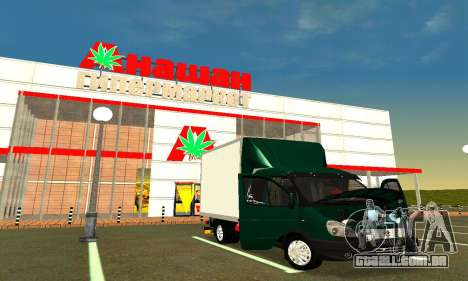 Gazela Agricultor v2 para GTA San Andreas