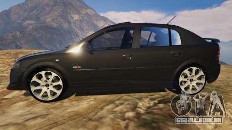 GTA 5 Chevrolet Astra GSI 2.0 16V vista lateral esquerda