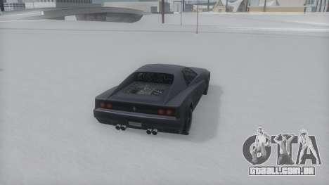 Cheetah Winter IVF para GTA San Andreas