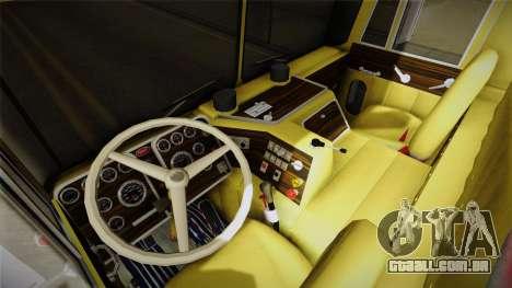 Peterbilt Monster Truck para GTA San Andreas vista traseira