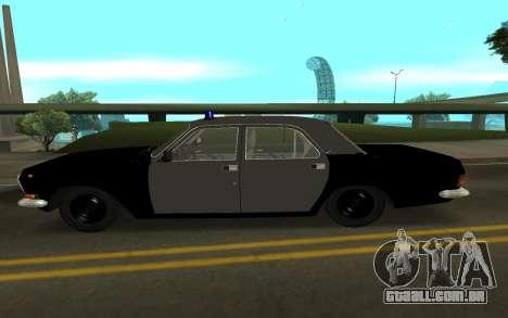 GAZ 24-10 Xerife para GTA San Andreas esquerda vista