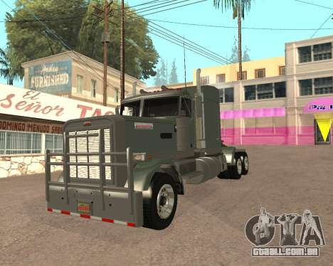 Dude Road Train para GTA San Andreas vista direita