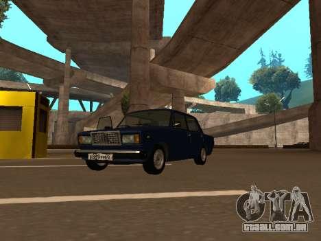 2107 (um Projeto do gabarito Contra Todos) para GTA San Andreas