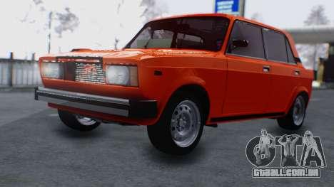 VAZ 2105 patch 3.0 para GTA San Andreas