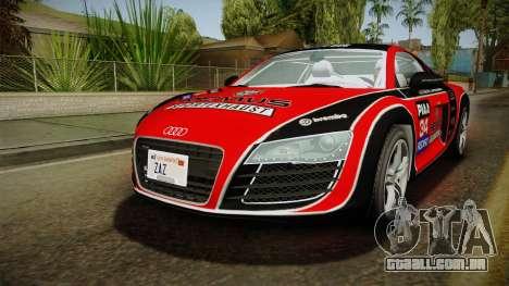 Audi R8 Coupe 4.2 FSI quattro EU-Spec 2008 YCH2 para GTA San Andreas