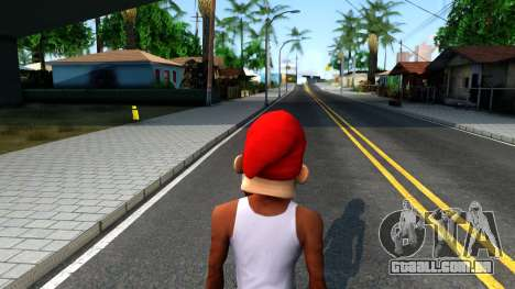 Gnome Mask From The Sims 3 para GTA San Andreas terceira tela