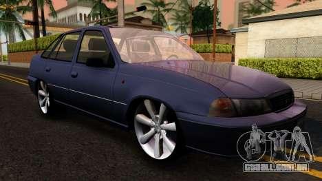 Daewoo Cielo 2001 para GTA San Andreas esquerda vista