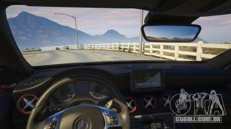 GTA 5 Mercedes-Benz A45 AMG Edition vista lateral direita
