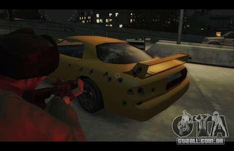 ZR 350 GTA San Andreas v1.0 para GTA 4 vista de volta