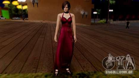 Resident Evil 6 - Ada Dress para GTA San Andreas segunda tela