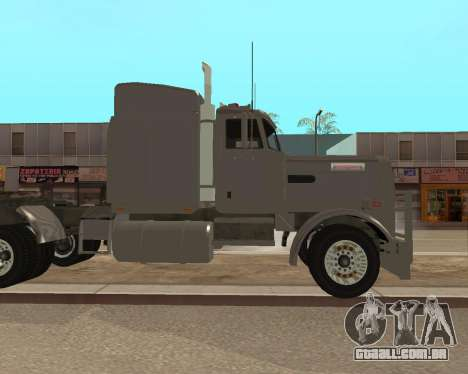 Dude Road Train para GTA San Andreas esquerda vista
