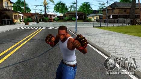 Red Bear Claws Team Fortress 2 para GTA San Andreas terceira tela