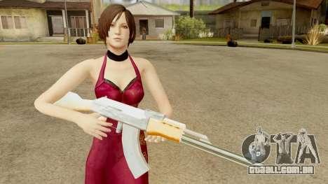 Resident Evil 6 - Ada Dress para GTA San Andreas