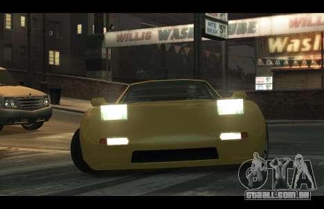ZR 350 GTA San Andreas v1.0 para GTA 4 vista direita