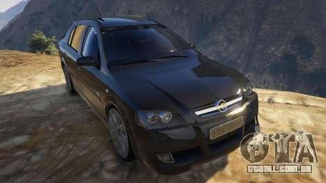 GTA 5 Chevrolet Astra GSI 2.0 16V voltar vista