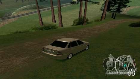 Forza Horizon 3 Speedometer para GTA San Andreas segunda tela