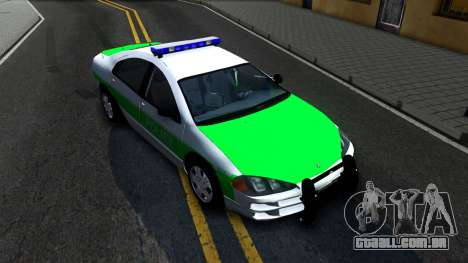 Dodge Intrepid German Police 2003 para GTA San Andreas vista direita