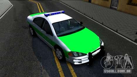 Dodge Intrepid German Police 2003 para GTA San Andreas vista direita