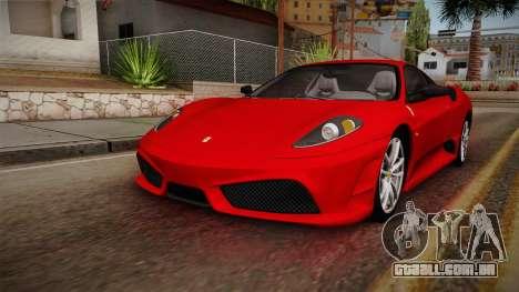Ferrari F430 para GTA San Andreas vista direita